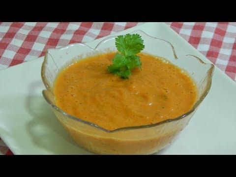 Cómo hacer una sabrosa salsa roja Mexicana (Receta fácil y rápida)