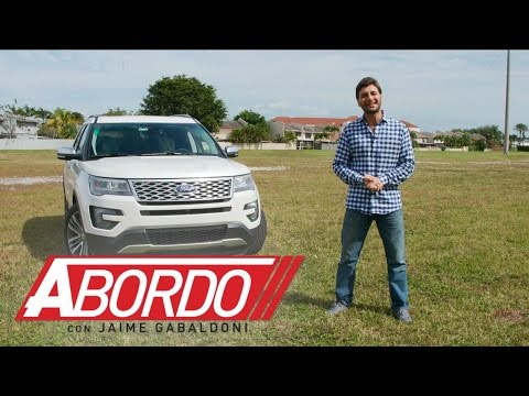 Ford Explorer 2016 - Prueba A Bordo [Full]