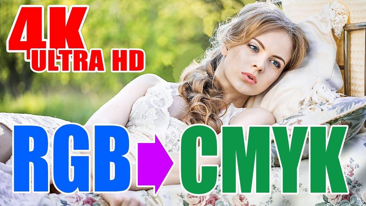 Chuyển ảnh từ hệ màu RGB sang hệ màu in ấn CMYK trong Photoshop (4K Ultra HD)