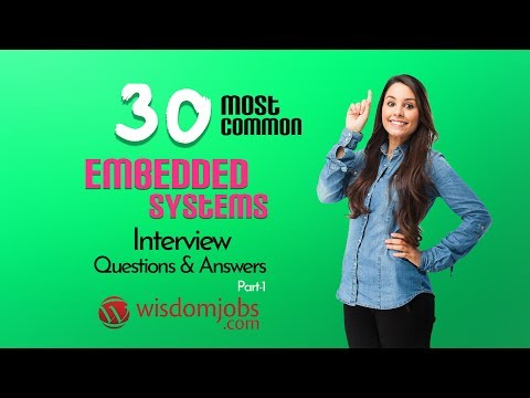 TOP 15 Embedded Systems Interview Questions And Answers 2019 Part-1 | Embedded Systems
