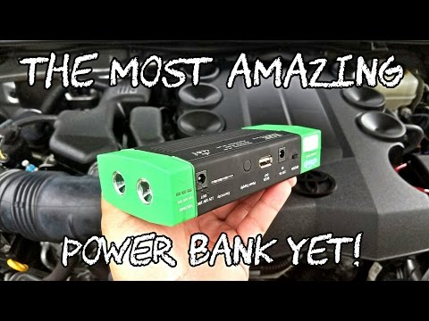 Great 13000+mAh Power Bank/Jump Starter From Caska!