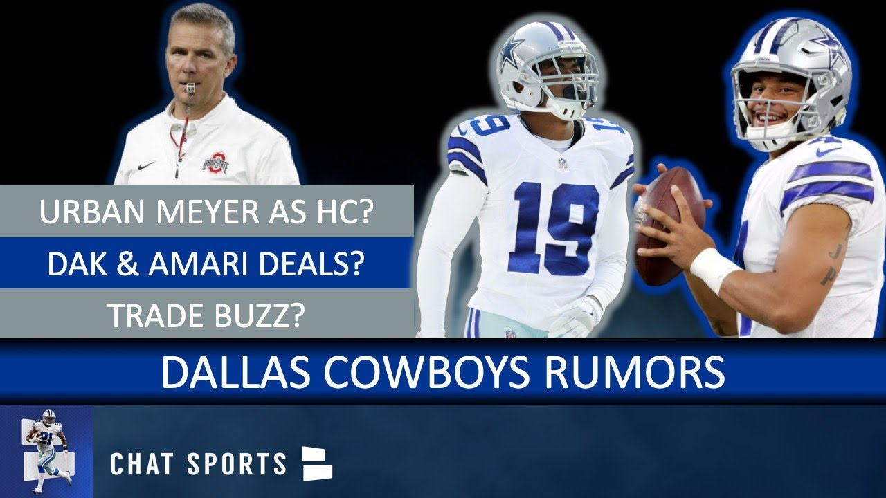 NFL rumors: Urban Meyer to Cowboys or Redskins? Jerry Jones ...