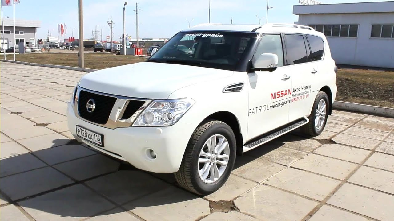 2013 nissan patrol start up engine and in depth tour youtube vanachro Image collections