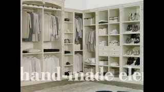 Classic luxury handmade armoires and wardrobes.
