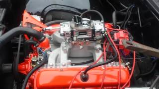 455 oldsmobile start up