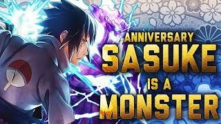 OHHHH yes its about that time witness greatness this sasuke is a mo...