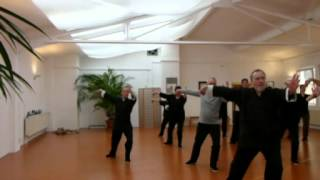 Yang-Stil Tai Chi Form 1. Teil (Ausschnitte)
