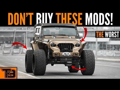 Worst Jeep Mods    Don't Buy!
