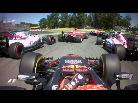 F1: The Top Five Starts Of 2017