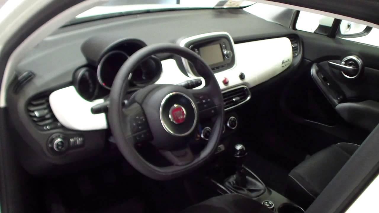 Fiat 500 Pop >> FIATLENZI - 500X 1.3 MJT 95CV POP STAR BIANCO - YouTube
