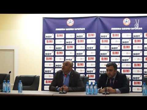 Artur Petrosyan Press Conference Armenia 0-0 Estonia / Արթուր Պետրոսյանի ասուլիսը