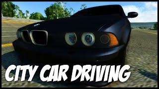 Volná jízda s M5 v City Car Driving!