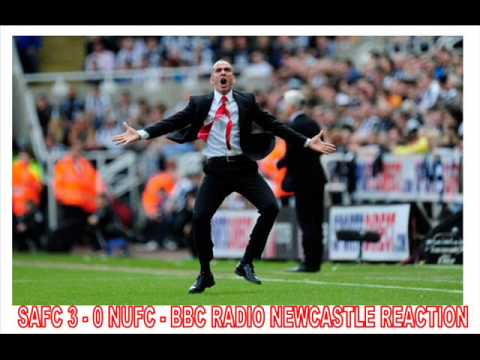 SAFC 3 - 0 SCUM! BBC RADIO NEWCASTLE REACTION