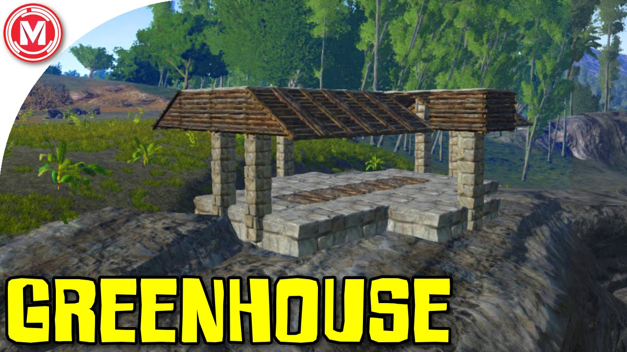 Ark survival evolved greenhouse build gameplay youtube malvernweather Choice Image