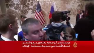 الكرملين يعلن استمرار القصف على حلب