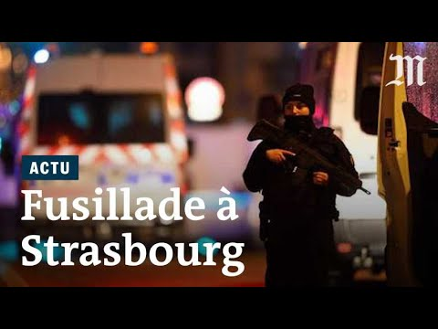 Strasbourg : les images de lattentat et du couvre-feu