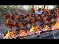 Full Grilled Chicken Recipe | Whole Chicken Roast Recipe without Oven | Grandpa Kitchen
