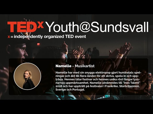 Namelle och Sofia Njurin - TEDxYouth@Sundsvall 2020