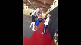Kids kick boxing @ Combat Sport & Fitness