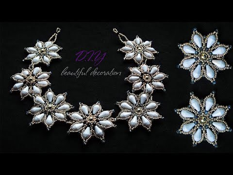 How To Make Necklace | DIY | Home Made Tutorial Pearl | Jewellery Pearl Necklace At Home..!
