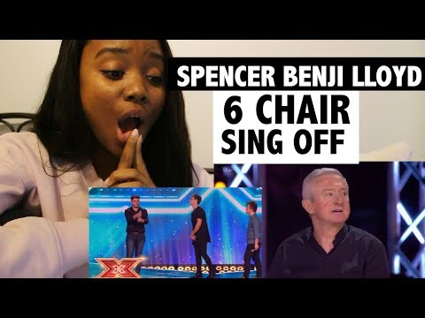 X-FACTOR UK - SING OFF - Spencer vs. Benji vs. Lloyd - REACTION!