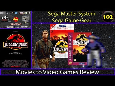 Movies to Video Games Review - Jurassic Park (Sega Master System & Sega Game Gear)