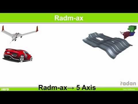 Radm-ax 5-Axis Profile Cutting 5-осевая лазерная резка в RADAN
