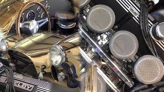 Polished Bronze Kirkham SC 427 1966 Shelby Cobra Roadster 427 Cobra FI tribute
