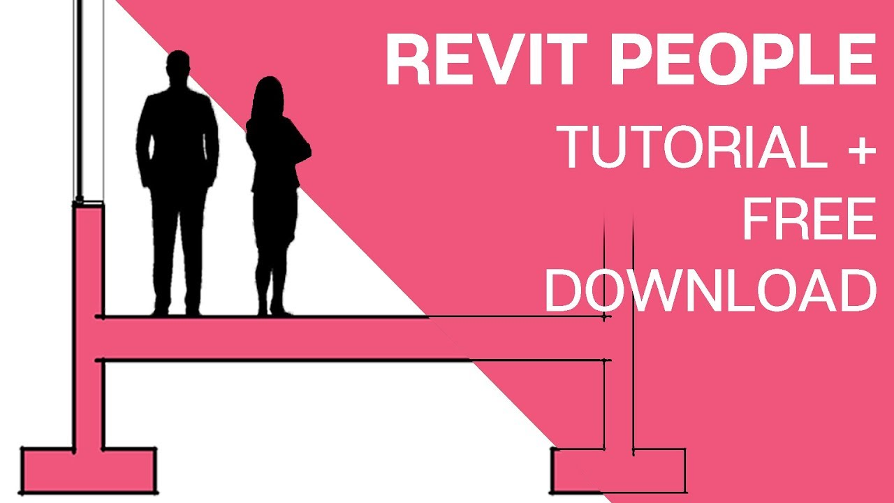 Revit People Component Tutorial: Illustrator to Revit Silhouette