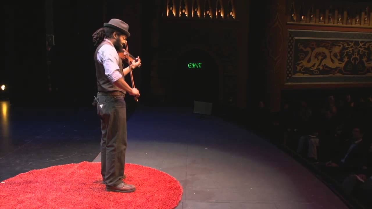 When folk music speaks: Ben Hunter at TEDxRainier