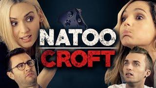 Natoo Croft - Avec Léa, Cyprien et Squeezie thumbnail