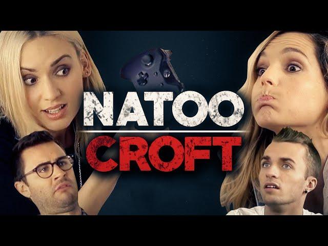 Natoo Croft - Avec Léa, Cyprien et Squeezie