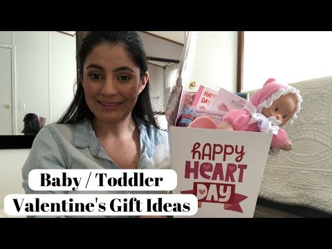 Valentine's Presents From Baby to Mother