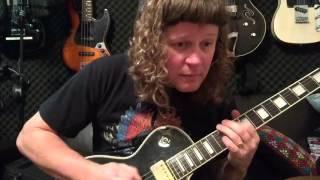 Aria Pro II - Les Paul Custom Review