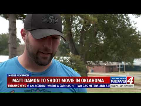 Small Oklahoma Town Prepares To Be Stop In Production Of Matt Damon Movie