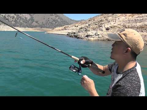 Fishing at millerton lake trip 1 of 2015 youtube for Millerton lake fishing