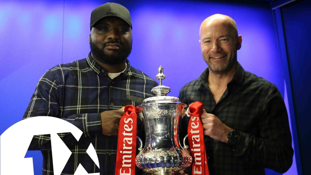 Ace Fa legend alan shearer brings ace his £1.5 million fa cup!