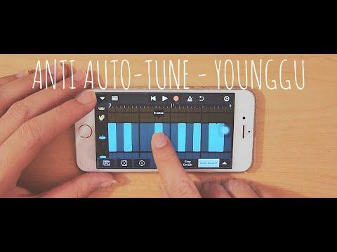 YOUNGGU - ANTI AUTO-TUNE  ด้วยโทรศัพท์ iPhone (GarageBand) iOS