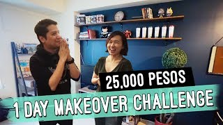 1 Day Budget Makeover Challenge // Condo Simple Decor Changes // by Elle Uy