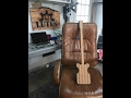 Solid body 3 string guitar DIY