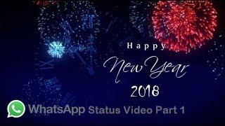 Happy New Year 2018 WhatsApp Status Part 1 Gentertainments