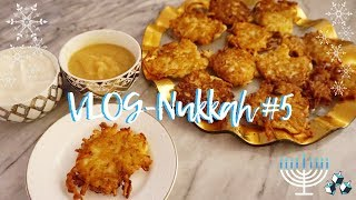 VlogNukkah #5 - THE BEST LATKES RECIPE EVER! Daily Hanukkah Vlogs