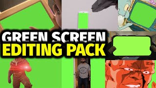 Mega Chroma Key Pack | Green Screen Editing Pack | Free Download