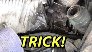 THE BEST Subaru CV Half Shaft Axle Replacement How To on YouTube!