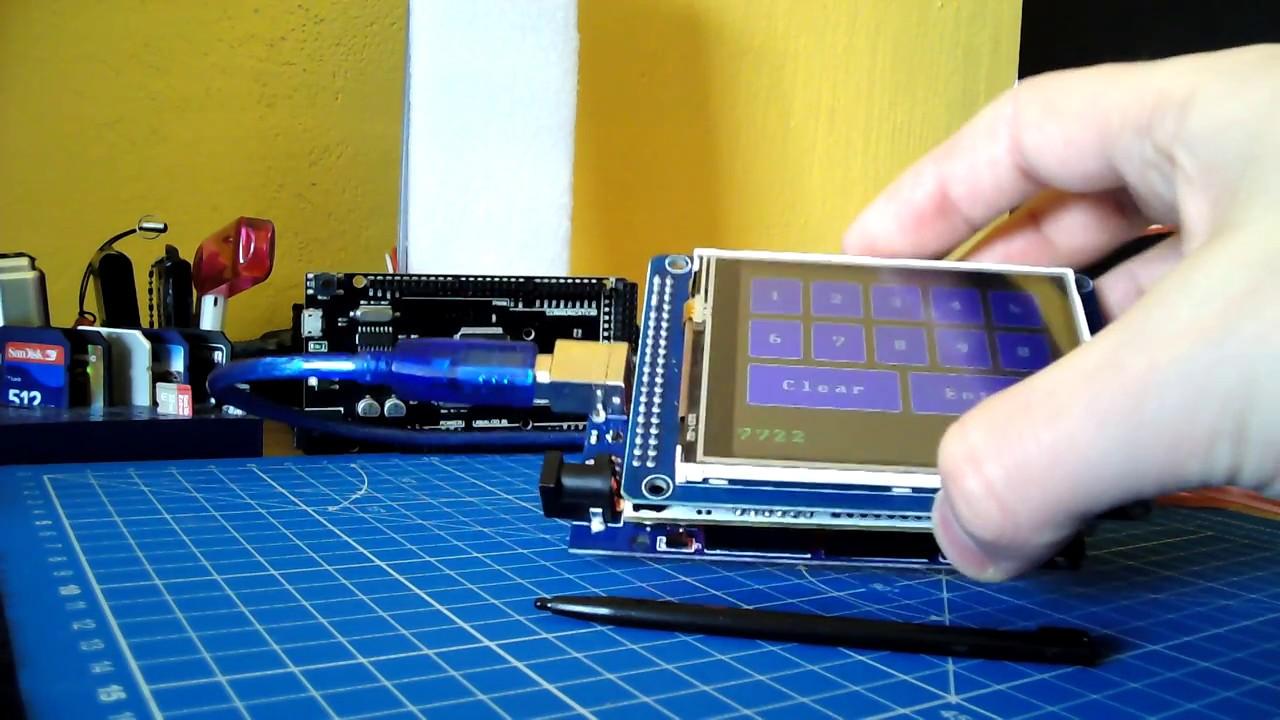 Arduino Mega 2560 And New Touch Ili9341 Displays Youtube Leonardo Pinout Diagrams Adafruit Industries