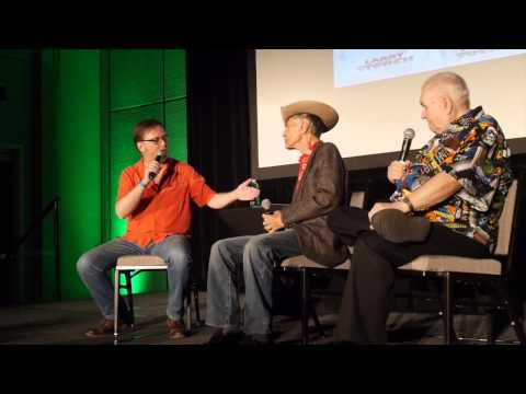 The Ghost Busters panel w/ Larry Storch and Bob Burns