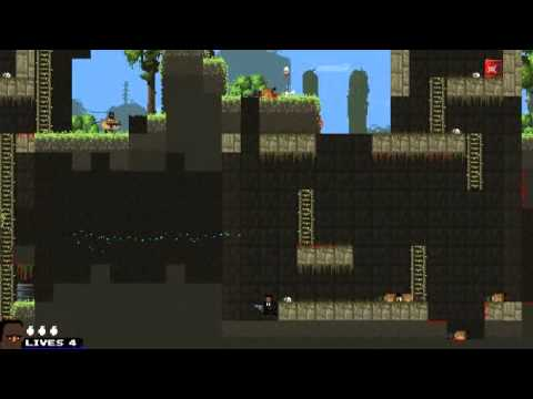 how to make broforce run faster