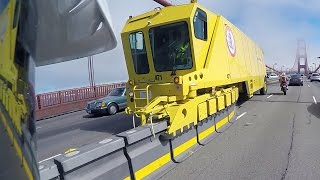Crazy Golden Gate Bridge Machine!