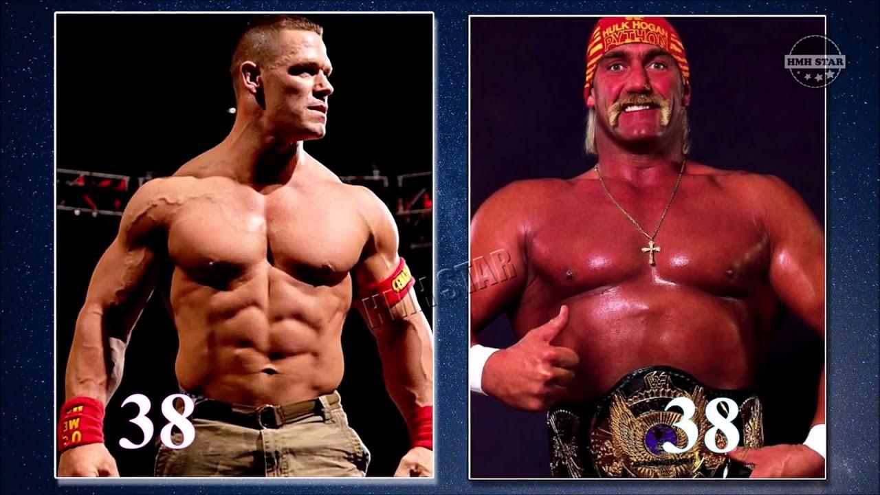 Hulk Hogan VS John Cena Transformation From 1 To 64 Years ...