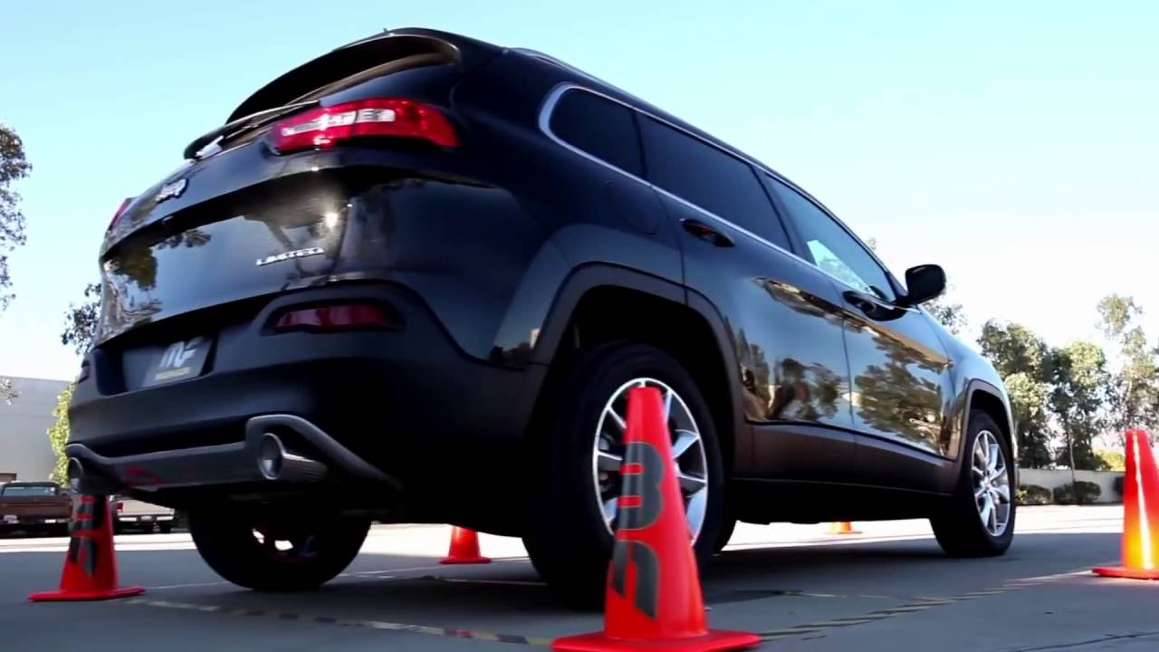 2017 2016 Jeep Cherokee V6 Performance Exhaust System Kit Magnaflow 15292